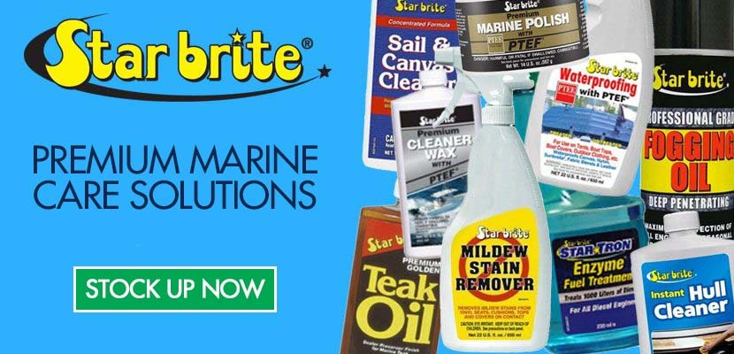 starbrite products promotion - stock up on boat maintenance