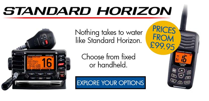 standard horizon - pick your fixed or handheld radio