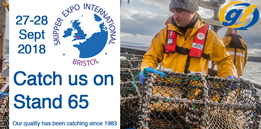 Gael Force will be attending Skipper Expo Bristol. Catch us at Stand 30 on 27-28 September 2018.