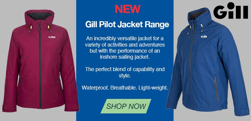 The NEW Gill Pilot Jacket is available for men and women. Click to browse!