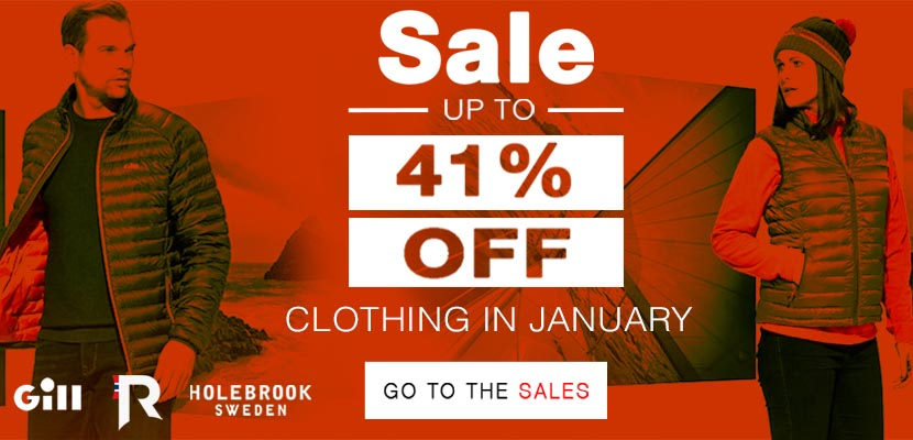 January Sale Now On! Get Up To 41% OFF Clothing