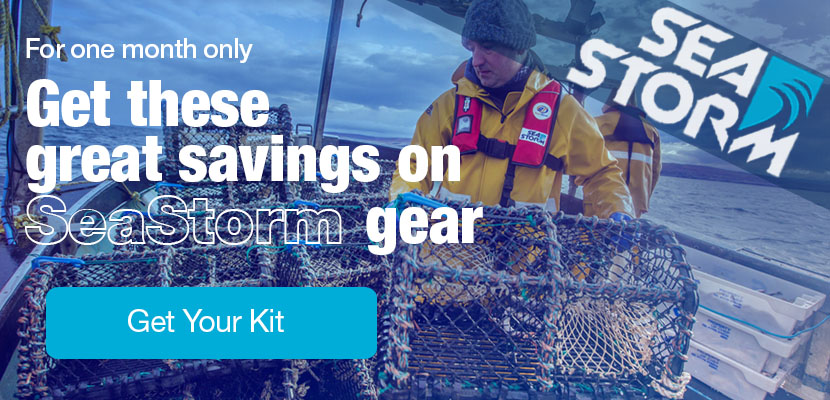For one month only. Get these great deals on SeaStorm Gear!