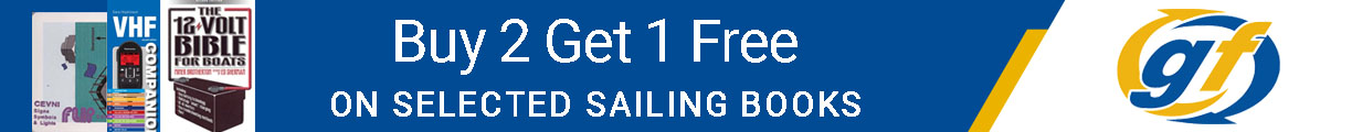 Buy 2 Get 1 Free on Selected Sailing Books!