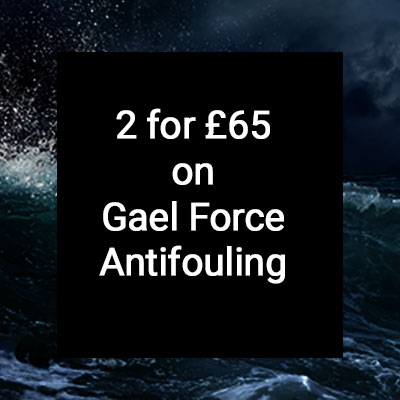 2 for £65 on Gael Force Antifouling