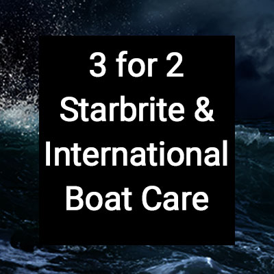 3 for 2 on Starbrite and International Boat Care