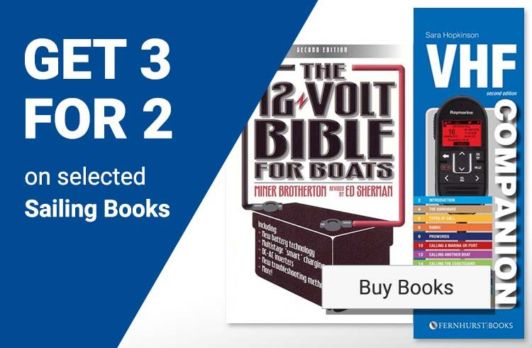3 for 2 on selected Sailing Books!
