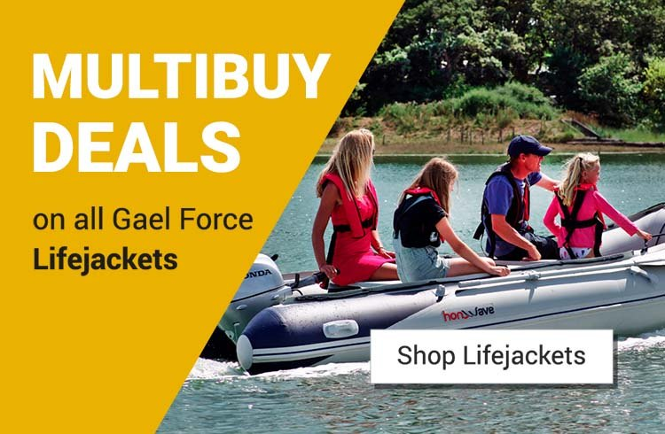 Multibuy deals on Gael Force Cruise Lifejackets!