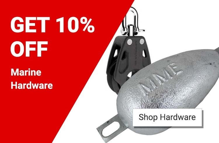 Get 10% off Marine Hardware!