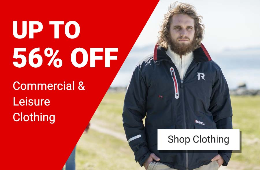 Up to 56% off Clothing across the site