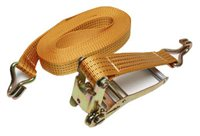 Indespension 2pc H/Duty Ratchet Strap/Hook - 50mm x 10mtr