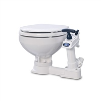 Jabsco Twist n Lock Toilet - Compact Bowl