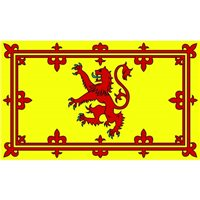Nauticalia Sailing Courtesy Flag - Scottish Lion