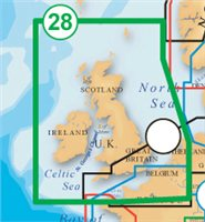 Navionics Platinum XL3 Chart UK & Ireland