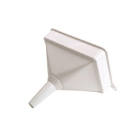 Lumatic Heavy Duty Plastic Funnel with Filter