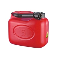 Plastic Jerry Can 20ltr with Spout by Kennedy