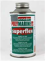 Polymarine Superflex PVC Paint Grey 750ml