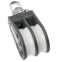 Barton Double Reversible Shackle Block (Plain)