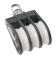 Barton Triple Block Reversible Shackle (Plain Sheave)