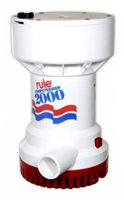 Rule 2000 Fully Automatic Submersible Pump 12v DC