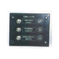 Trem 3 Switch Electrical Panel