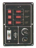 Trem 3 Switch Electrical Panel (Lighter)