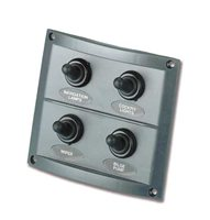 Trem 4 Switch Electrical Panel