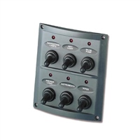 Trem 6 Switch Electrical Panel