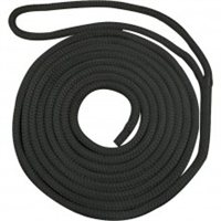 Waveline Pre-Spliced Dockline - Black 14mm (14mtr)