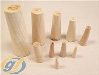 Waveline Wooden Plug Set of 10