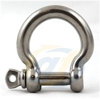 Gael Force Stainless Steel Bow Shackle