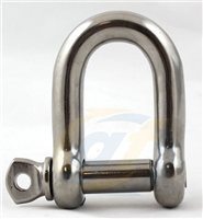 Gael Force Stainless Steel Dee Shackle
