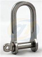 Gael Force Stainless Steel Strip D Shackle