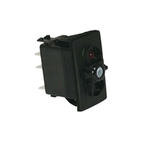 Carling Tech Momentary/OFF/Momentary Rocker Switch