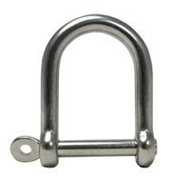 Gael Force Stainless Steel Wide Jaw D Shackle