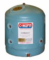 C-Warm 29 litre Vertical Water Storage Heater
