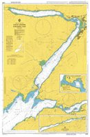 Admiralty Chart 2380 Loch Linnhe Northern Part