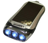 Gael Force Solar Powered Torch with Pull Cord