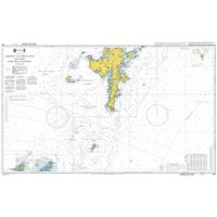 Admiralty Chart 1119 Orkney and Shetland Islands Fair Isle Channel