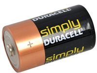 Duracell Heavy Duty D-Type Alkaline Battery 2-Pack (C1)