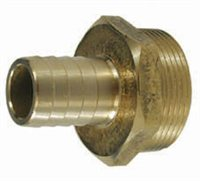 Gael Force Brass Taper Thread Male - Hose Connector