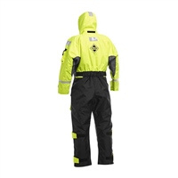 Fladen Scandia 1-Piece Flotation Suit (Options: Small - Black/Yellow, Medium - Black/Yellow, Large - Black/Yellow, XL - Black/Yellow, XXL - Black/Yellow)