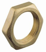 Gael Force Hex Locknut - Heavy Duty Brass