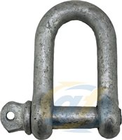 Gael Force Galvanised Commercial D Shackles (C1)