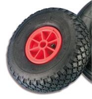 Trem Pneumatic Tyre with Plastic Centre 260mm