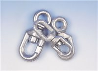 Gael Force Galvanised Mooring Swivel