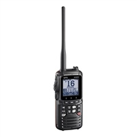 Standard Horizon HX890E DSC VHF/GPS Handheld Radio (Option: Black)