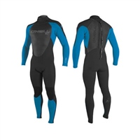 O'Neill Men's Epic 5/4mm Back Zip Full Wetsuit - Black/Ocean Blue