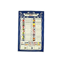 Nauticalia Code Flags Galley Cloth