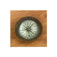 "Nauticalia ""Journey of a Thousand Miles"" Compass"