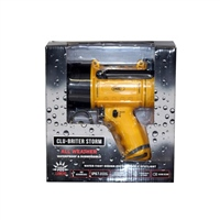 Cluson Clu-Briter Storm Rechargeable LED Pistol Torch Light
